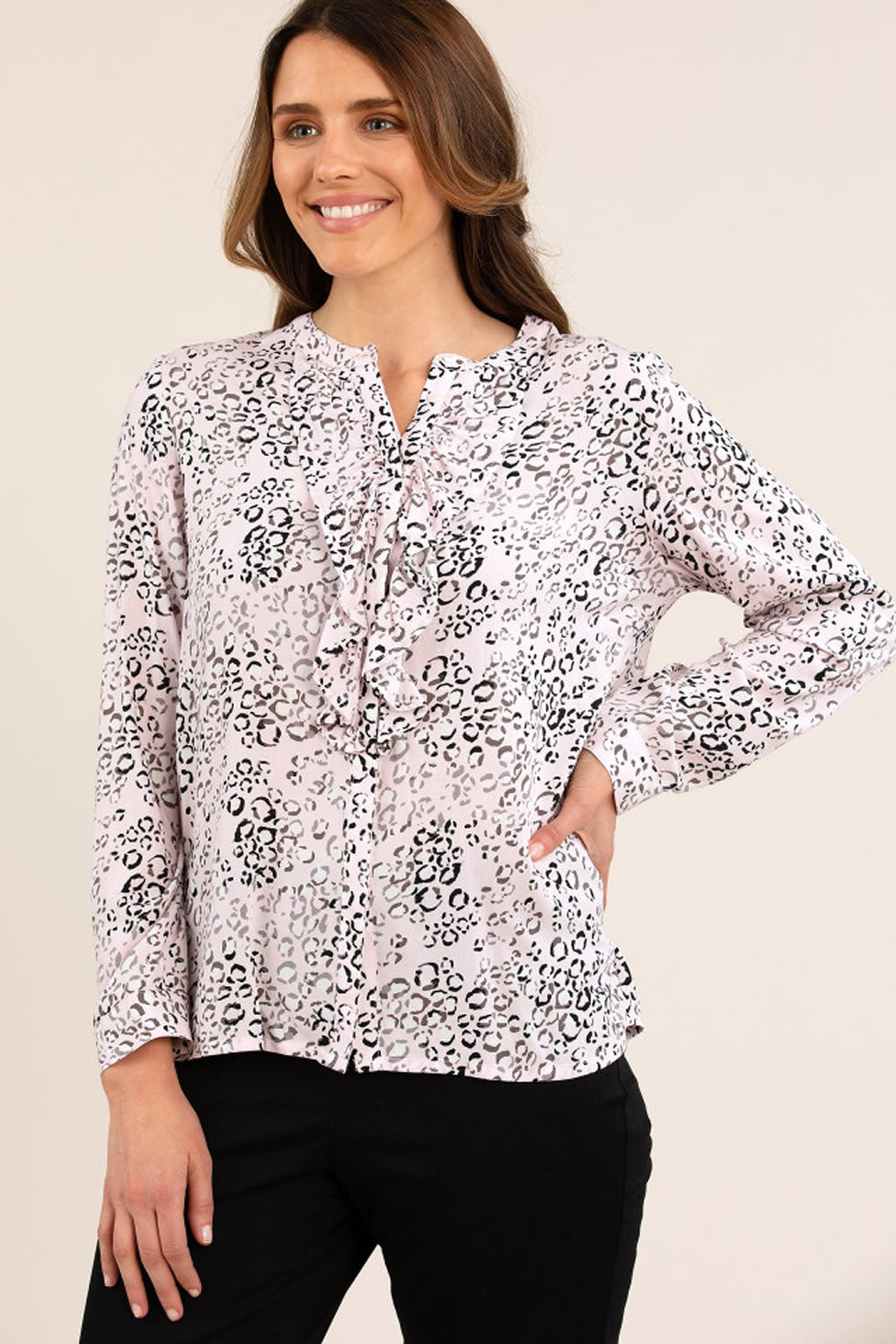 Yarra Trail Animal Print Shirt
