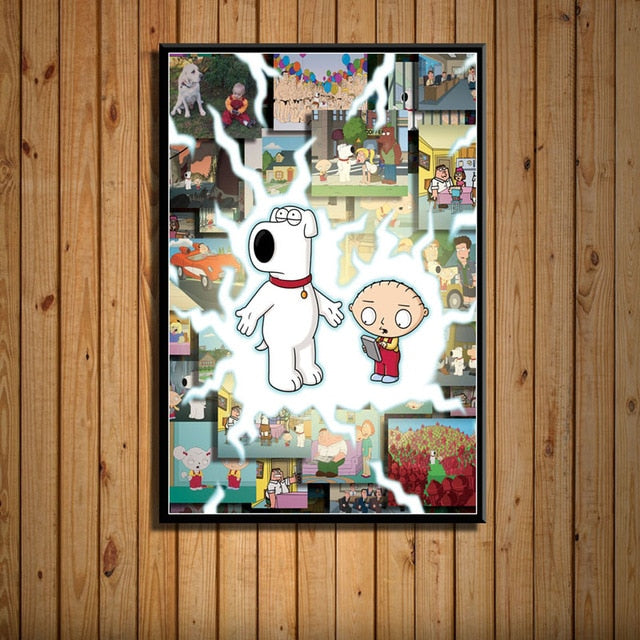 Family Guy Posters 60% Off