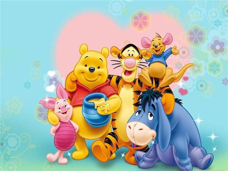 Winnie The Pooh Familie