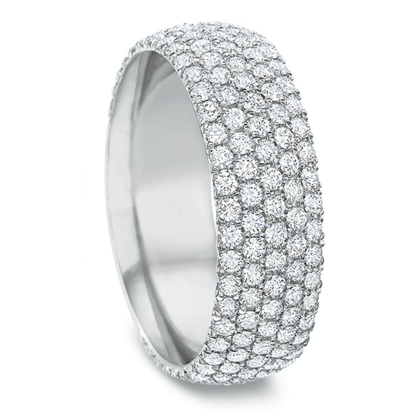 .82 CTW Comfort-Fit Pavé Band