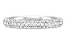 Load image into Gallery viewer, .56 CTW Comfort-Fit Pavé Band