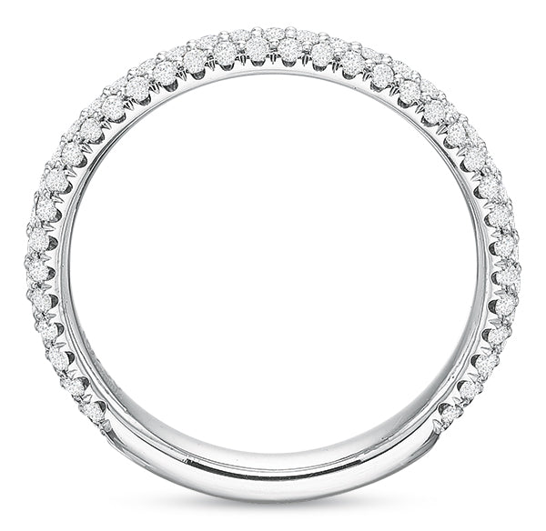.56 CTW Comfort-Fit Pavé Band
