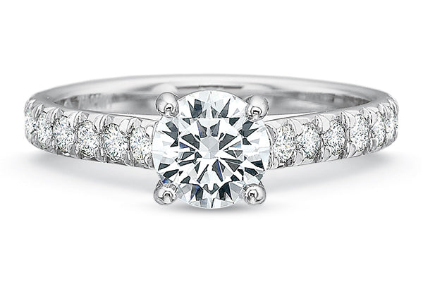 .27 CTW 4-Prong Low-Profile Engagement Ring