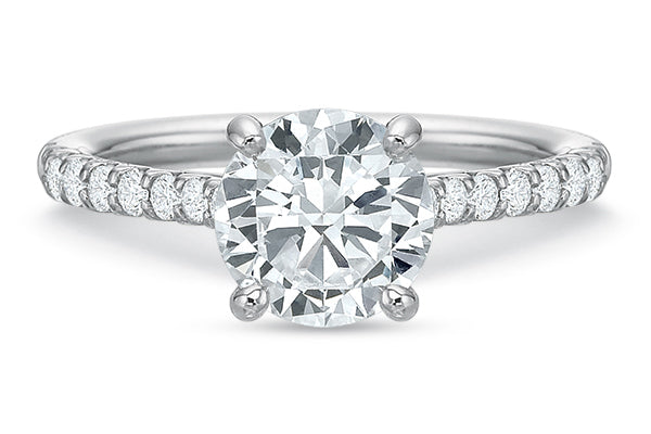 .27 CTW 4-Prong Comfort-Fit Engagement Ring