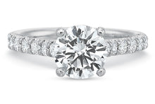Load image into Gallery viewer, .45 CTW 4-Prong Comfort-Fit Engagement Ring
