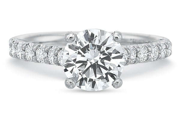.45 CTW 4-Prong Comfort-Fit Engagement Ring