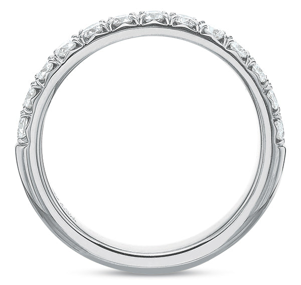 .50 CTW French-Set Half-Band