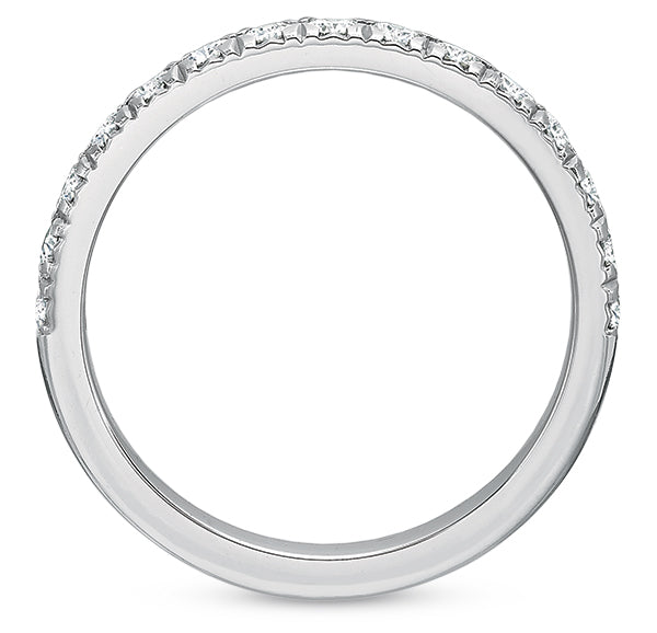 .31 CTW Half-Band Low-Profile Wedding Band