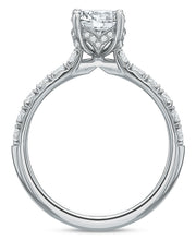 Load image into Gallery viewer, .50 CTW Modern Diamond Prong Engagement Ring