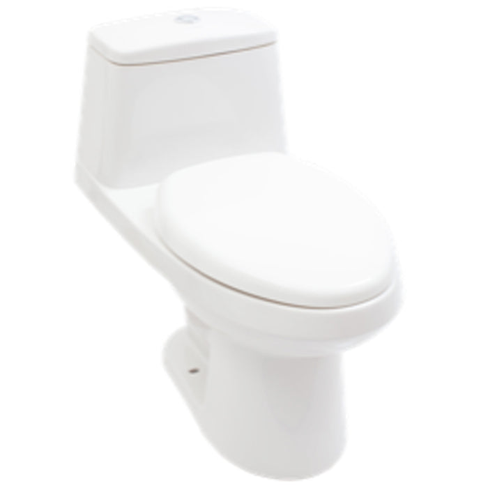 Sanitario Oken one piece alargado blanco 3.8 L