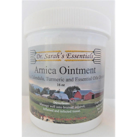 Dr. Sarah's Essentials - Arnica Ointment - 16oz-Doc Tom Roskos