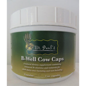 Dr. Paul's Lab - B-Well Caps - For Adult Cows-Doc Tom Roskos