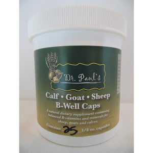 Dr. Paul's Lab - B-Well Caps - For Calf, Sheep, Goat-Doc Tom Roskos