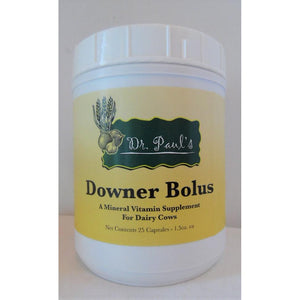 Dr. Paul's Lab - Downer Bolus - 25 ct-Doc Tom Roskos