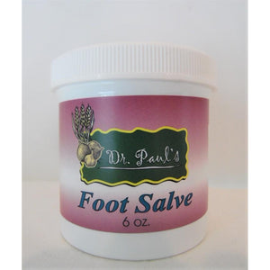 Dr. Paul's Lab - Foot Salve - 6 oz.-Doc Tom Roskos