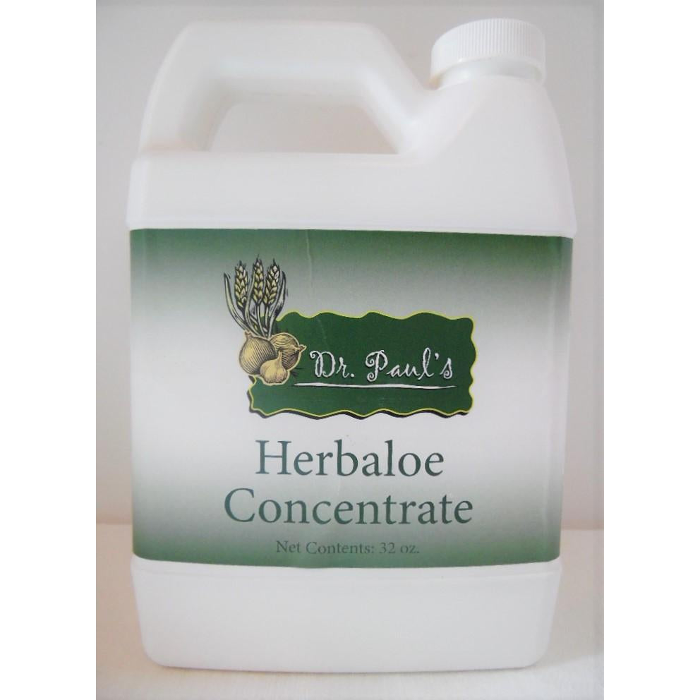 Dr. Paul's Lab - Herbaloe Concentrate - 32 oz.-Doc Tom Roskos