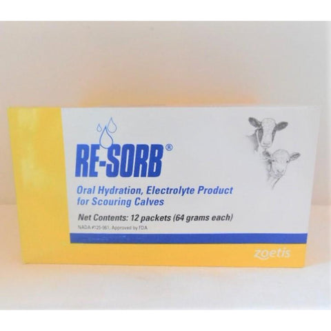 Re-Sorb Electrolyte Packets-Doc Tom Roskos