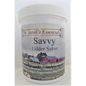 Dr. Sarah's Essentials - Savvy Udder Salve-Doc Tom Roskos
