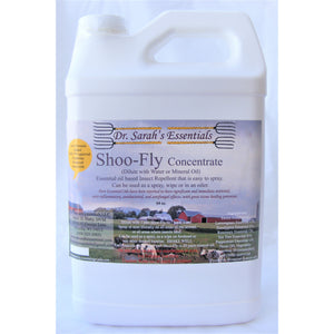 Dr. Sarah's Essentials - Shoo-Fly Insect Repellent Concentrate - 64oz-Doc Tom Roskos