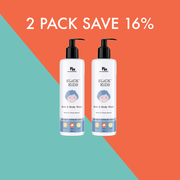 2 x Plant Based Hair and Body Wash 400ml | SAVE 16%