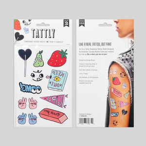 *** SHIPPING FEBRUARY 5TH *** Girl Gang Sheet | TATTLY
