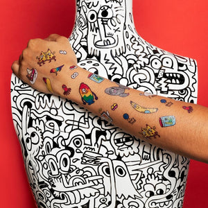 *** SHIPPING FEBRUARY 5TH *** Goofy Doodles Sheet | TATTLY
