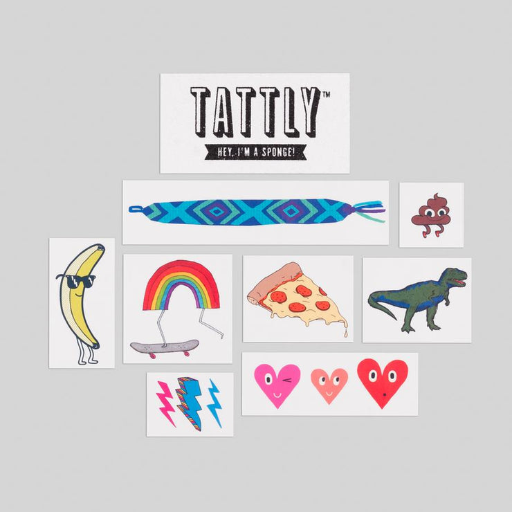 Kids Mix Three - 8 Tattoos | TATTLY