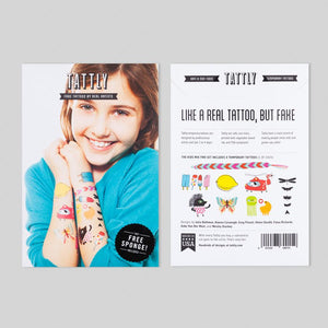 *** SHIPPING FEBRUARY 5TH *** Kids Mix Two - 8 Tattoos | TATTLY