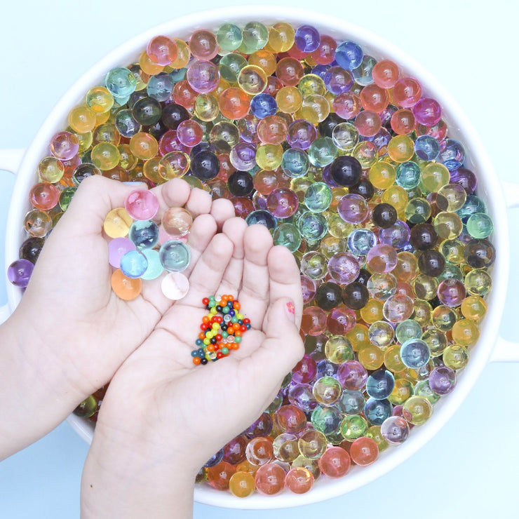 TRIO PACK |  Rainbow Sensory Play Water Beads | 10g Approx 500 water beads