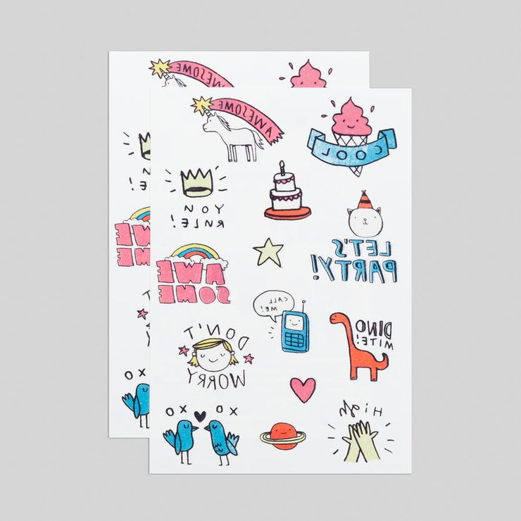 Party Pals Sheet | TATTLY