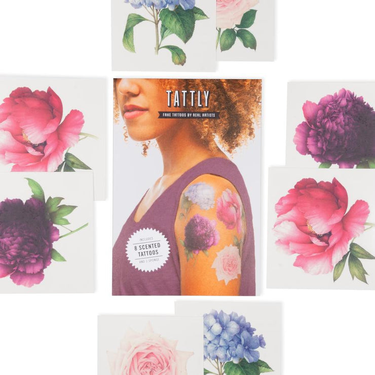 SCENTED Perennial Set - 8 Tattoos | TATTLY