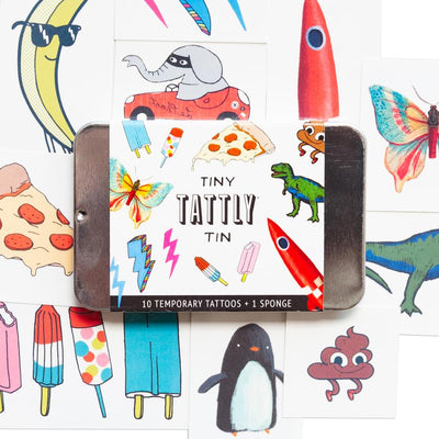 Tiny Funner Tin | TATTLY