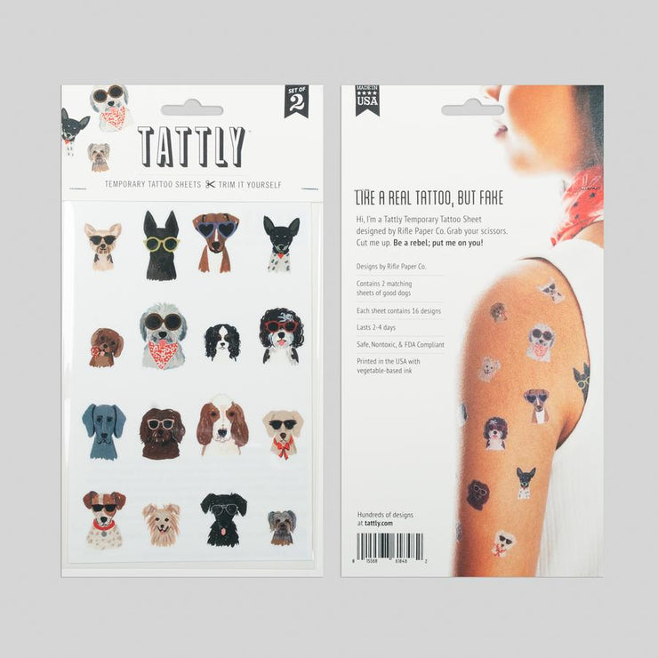 Dog Days Sheets Set of 2 | TATTLY