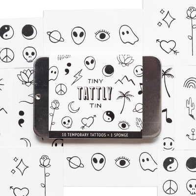Tiny Flash Art Tin |  TATTLY