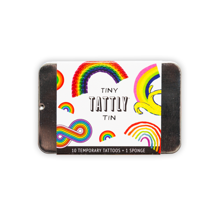 Tiny Rainbow Tin |  TATTLY