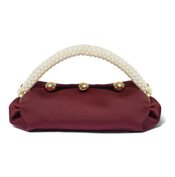 Burgundy Small Nino Tote Bag - 0711