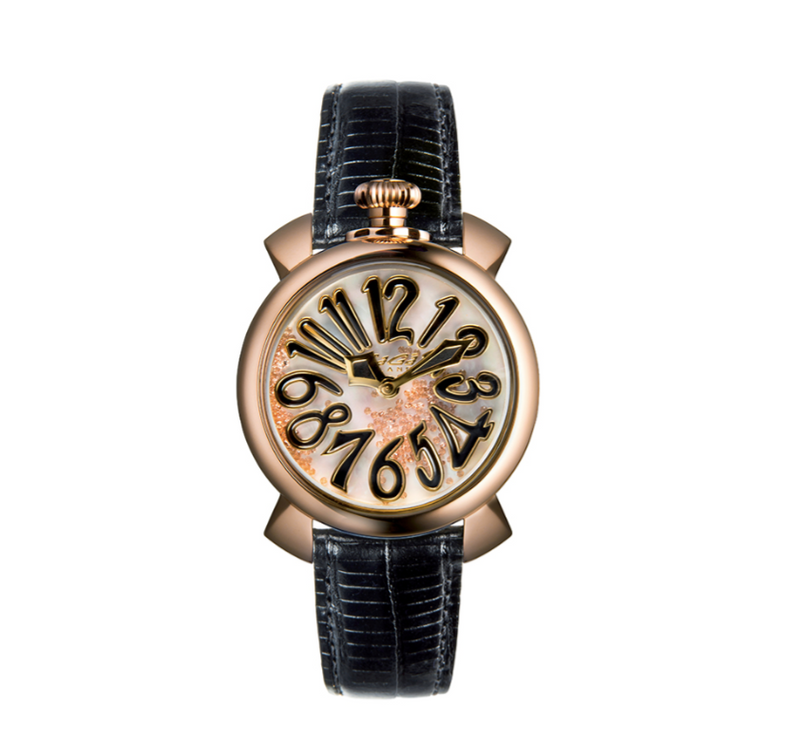 Manuale 40mm Gold Black - Floating - GaGà Milano