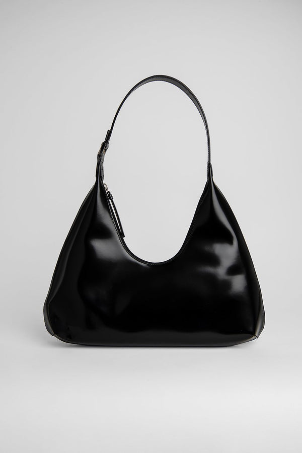 Amber Black Leather Bag - BY FAR