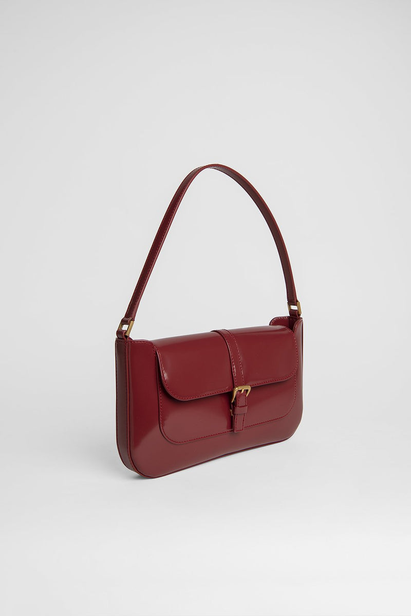 Miranda Red Leather Bag - BY FAR
