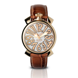 Manuale 40mm - Rose Gold Plated Classic - GaGà Milano