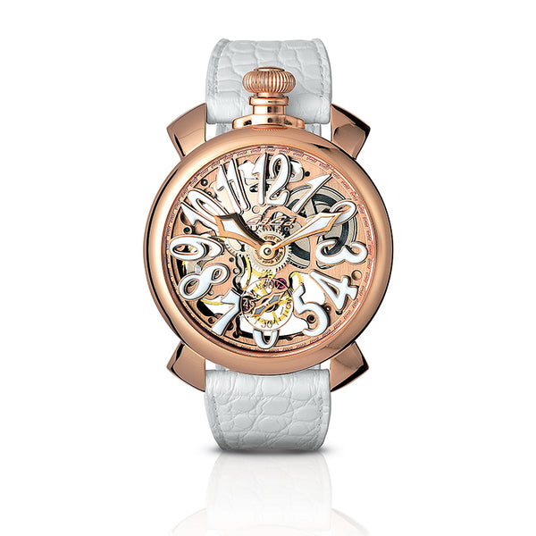 Skeleton 48mm - Rose gold plated - GaGà Milano