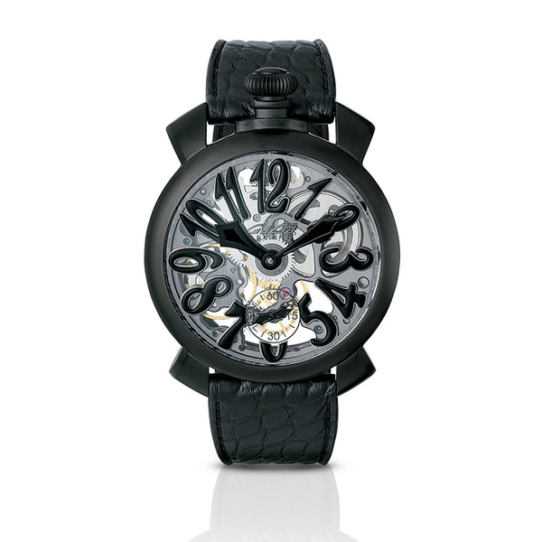 Skeleton 48mm - Black PVD - GaGà Milano