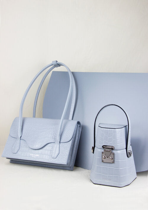 Elisabeth Bag Dust Blue - YESE STUDIO