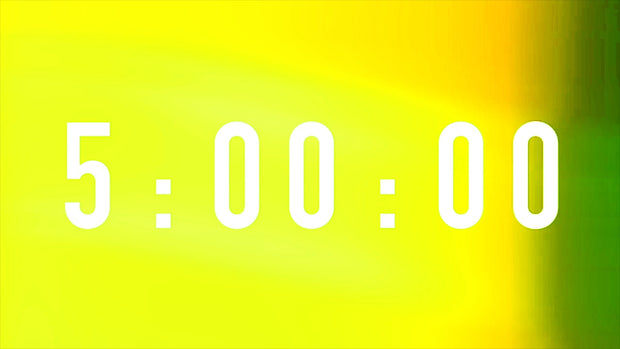 Lemonade Blur Countdown