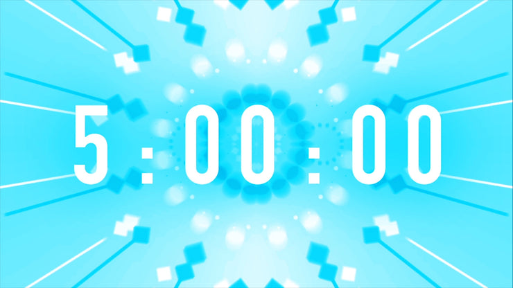 Powder Blue Countdown