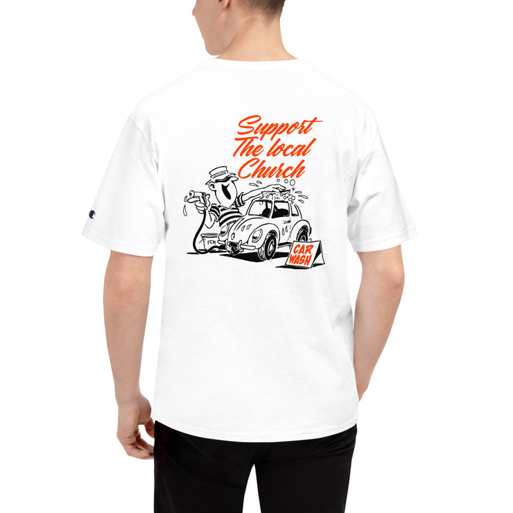 Car Wash Support - Champion T-Shirt