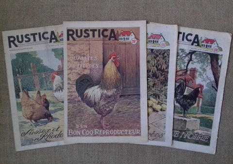 4 Magazines Cockerels/Roosters and Hens - simplyfrenchvintage