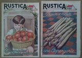 4 Magazines Tomatoes Asparagus Mushrooms Gooseberries - simplyfrenchvintage
