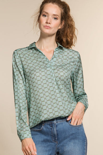 Alida Chain Blouse