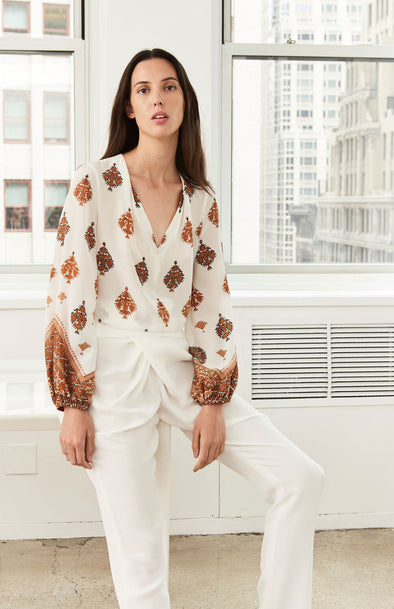 Ryan Silk Blouse